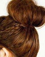 90后女生花苞发型扎法 自己怎么弄苞头发型