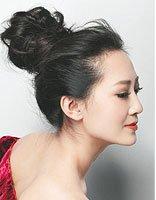 盘花苞头发型过程图解 花苞头盘头发简单好看的步骤