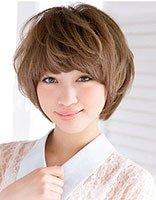 纹理短发如何整理 美女纹理短发