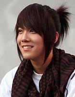 扎马尾的男生发型 男士马尾发型图片