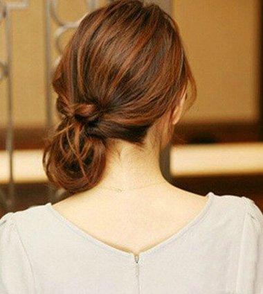 头发少怎么弄韩国发型扎法 2017年发型流行扎发