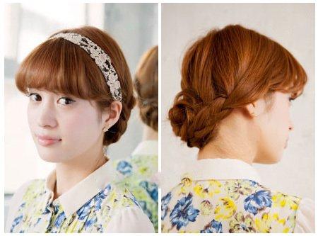 主持人脸长盘头适合什么发型 长脸女生适合的盘头发型