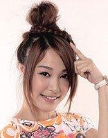 适合高中生的简单发型扎法 高中生发型扎法