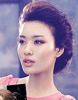 无刘海高贵气质贵妇人的发型 无刘海贵妇人盘发图片