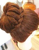 菊花头发型怎么盘发 自己就能盘的发型