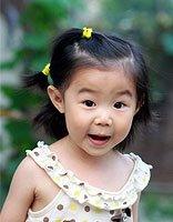 短头发儿童的发型怎么扎 儿童短头发发型扎法