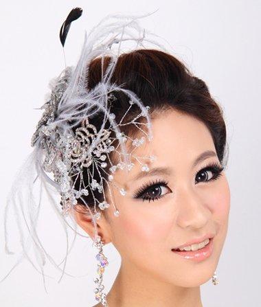 婚礼新娘盘头发型图片 盘发新娘发型图片教程