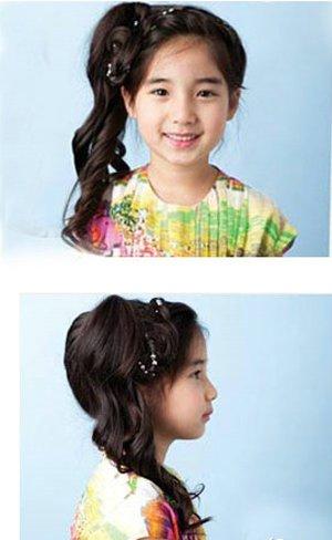怎样编小孩子的头发带图解和文字的 小孩编头发简单好看的步骤