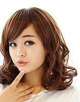 胖正三角脸型适合什么斜刘海发型 三七分斜刘海发型