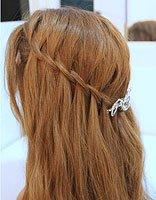 头发太长如何快速编出好看的发型 编辫子的简易发型图片