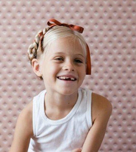 小女孩辫子盘发发型 适合五岁小女孩的盘发发型