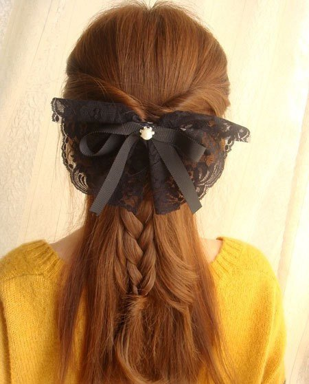 怎样编制美丽发型 成熟女编辫发型