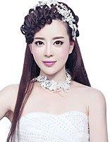 最简单的新娘盘发有刘海步骤 刘海盘发图解