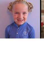 少儿头发制作盘头 少儿盘发发型
