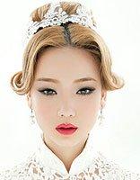 新娘盘发蓬蓬刘海怎么弄的 2017年最新刘海盘头法