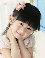 儿童直发有刘海简单的扎法 儿童的发式刘海扎法