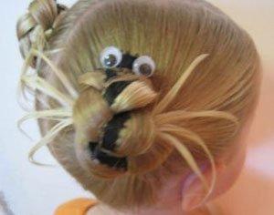 小孩子简单扎头发发型步骤 学扎头发小孩简单发型