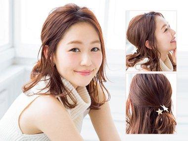 光额头如何扎好看的发型 扎额头蓬松发型图片
