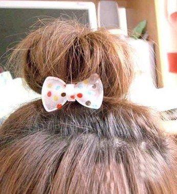 短发怎么扎丸子头图解 短头发丸子头的扎法