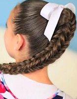 青少年好看的编发发型 女性青少年编辫发型大全