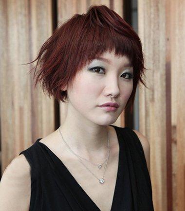 今年流行什么烫发发型中年版 2017中年女性烫发图片