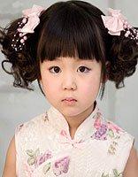 女儿童各种各样的盘头发型图片步骤