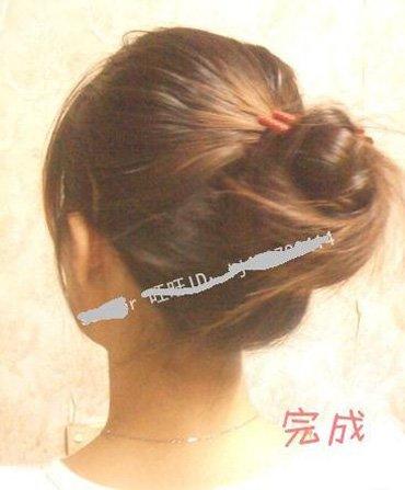 适合35岁女人的盘发发型 2017最新盘发发型步骤
