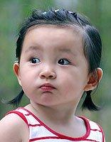 儿童短头发怎么编好看图片 短发怎样编两边的头发