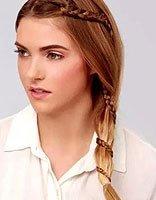 圆脸适合什么长发型扎起来的 适合圆脸简易发型长发的扎法