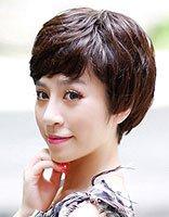 中年妇女短发烫头发型图片 中年女性烫发短发型图片大全