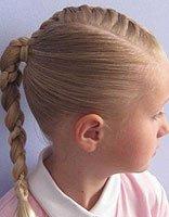 怎么学习给孩子编好看的头发 学编小孩子的头发