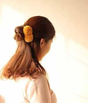 中学生中发发型简单扎法 学生发型扎法步骤图解