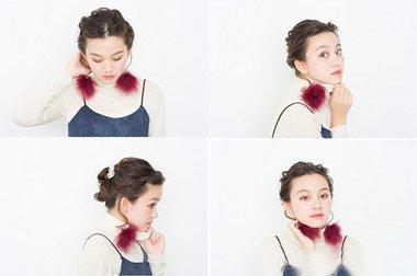 如何盘头发最简单漂亮 短发盘头发方法图解
