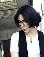 韩版男士中分长发发型 男生优雅中分长发发型图片