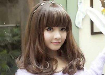 内扣发型怎么用陶瓷烫 陶瓷烫发时尚发型图片