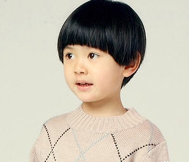 女生可爱蘑菇头发型 小孩蘑菇清新发型