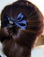 中学生简单盘发发型步骤 学生时尚盘发发型图解