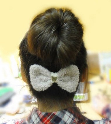 花苞头是怎么梳的 自然花苞头盘发步骤