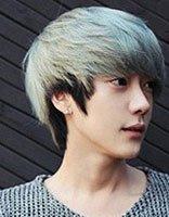 二十岁男生染什么颜色的头发好看 男生时尚染发发型图