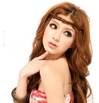 瓜子脸适合染棕黄色的头发吗 瓜子脸女生头发染什么颜色好看
