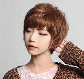 短发纹理烫如何打理 女生短发蓬松纹理烫发型