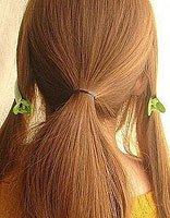 怎么挽花苞头发型步骤图片 如何制作花苞头发型
