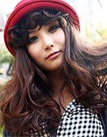 大脸庞大眼睛的女孩适合留什么样的发型 长发大眼大脸女生适合什么发型