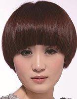 国字脸适合染什么颜色的头发 国字脸短发烫染发型