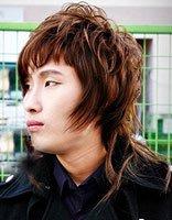 男生长碎发发型图片 男中长发个性发型