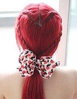 爱心辫子发型扎法教程 简单漂亮的辫子发型图解