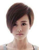 长脸适合什么超短发型 长脸女生短发发型设计图片
