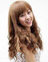 韩式蛋卷长发发型 韩版长发蛋卷头发型图片