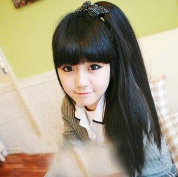 韩式马尾辫发型怎么扎 韩式学生马尾发型