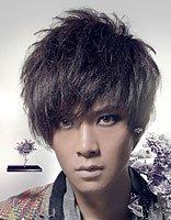 男生烟花烫发型 烟花烫时尚发型图片